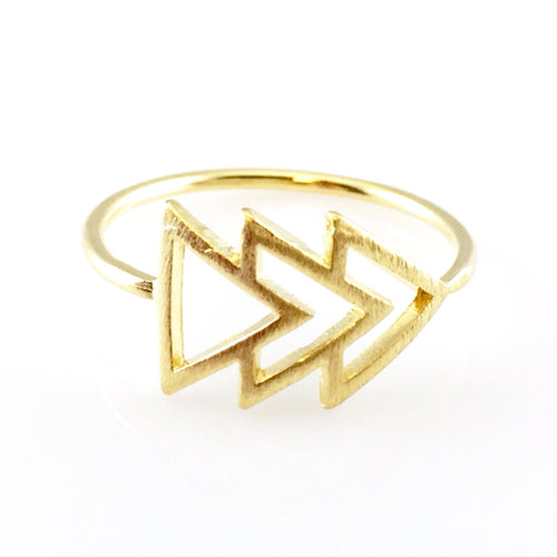Big Arrow Ring, Rings - www.thestoneflower.com
