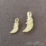 Angel Wing Charm, Charms - www.thestoneflower.com