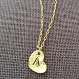 Heart Alphabet Charm, Charms - www.thestoneflower.com