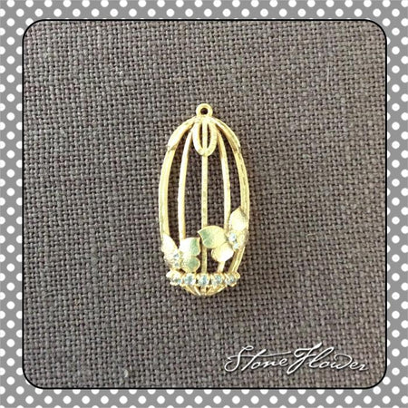 Sparkling Heart Fishing Hook Earring