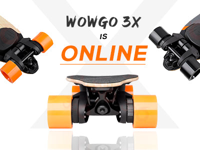 Wowgo 3X is Online Today