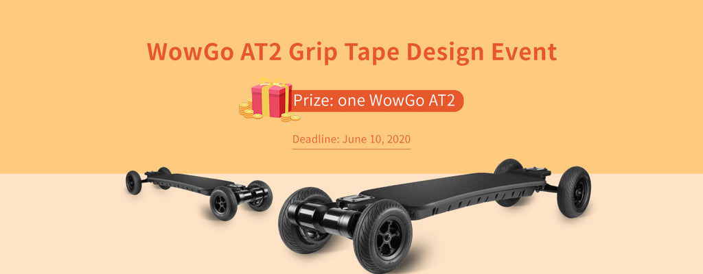 WowGo AT2 grip tape design event!