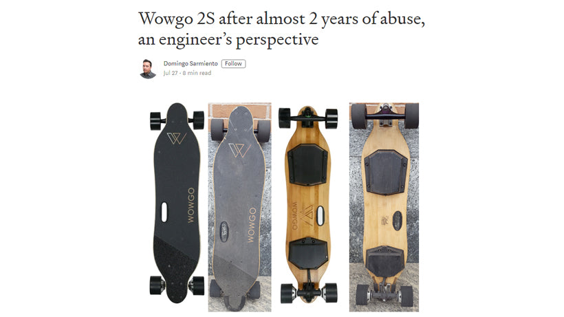 an engineer's perspective for wowgo 2s