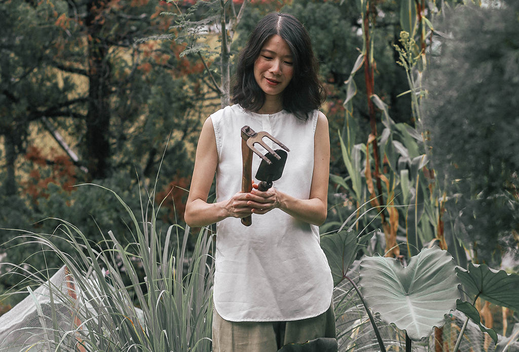 Olivia Choong on living off the land