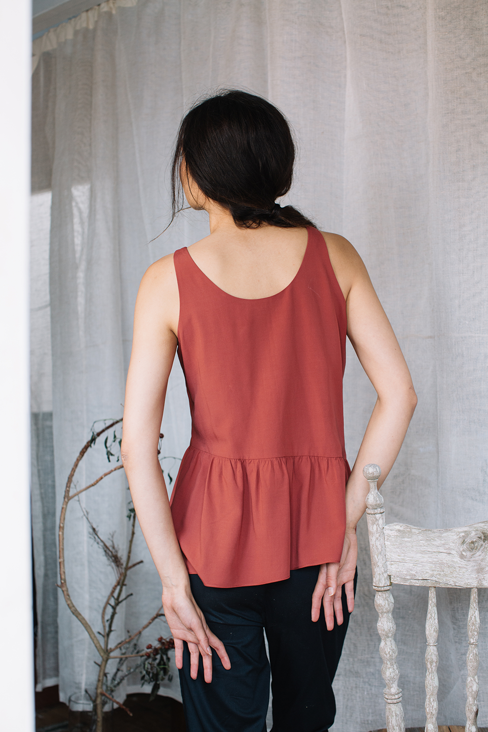 Asymmetrical Tank Top