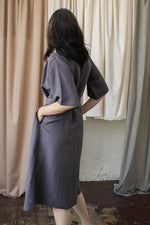 Maxi Dress with Detachable Belt