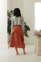Linen Multi-Way Skirt