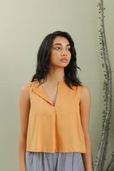 Organic Cotton Trapeze Top