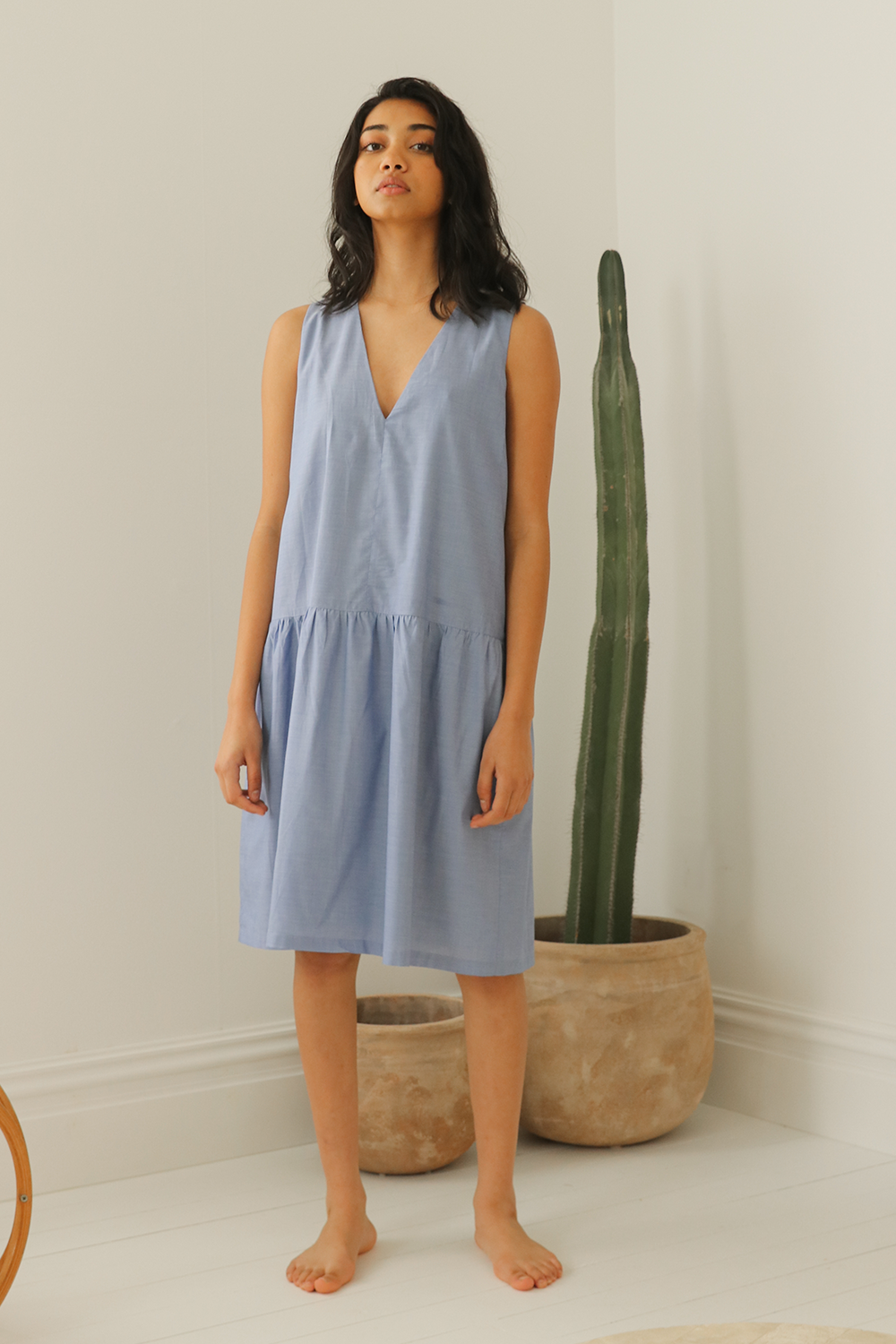 Organic Cotton Dropwaist Dress
