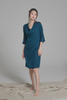 Draped Wrap Dress