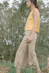 Organic Cotton Double Layered Pants
