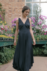Strappy Lowback Maxi Dress