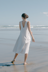 Organic Cotton Halter Dress