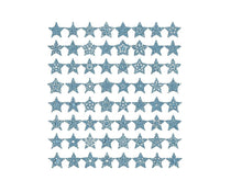 60+ Christmas Stars embroidery designs formats dst, exp, pes, jef and xxx, Sizes 1, 1.5 and 2 inches, instant download