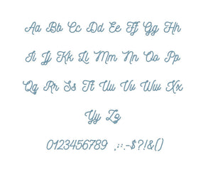 Ratatam embroidery font formats bx (which converts to 17 machine formats), + pes, Sizes 0.50 (1/2), 0.75 (3/4), 1, 1.5 and 2""