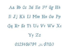 Aramis embroidery BX font Sizes 0.25 (1/4), 0.50 (1/2), 1, 1.5, 2, 2.5, 3, 3.5, 4, 4.5, 5, 5.5, 6, 6.5, and 7 inches