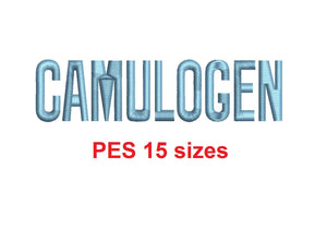 "Camulogen™ block embroidery font PES 15 Sizes 0.25 (1/4), 0.5 (1/2), 1, 1.5, 2, 2.5, 3, 3.5, 4, 4.5, 5, 5.5, 6, 6.5, and 7"" (RLA)"