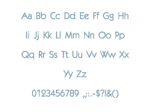 Belladonte embroidery BX font Sizes 0.25 (1/4), 0.50 (1/2), 1, 1.5, 2, 2.5, 3, 3.5, 4, 4.5, 5, 5.5, 6, 6.5, and 7 inches