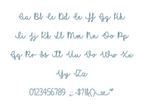 "I Love Glitter embroidery font PES format 15 Sizes 0.25 (1/4), 0.5 (1/2), 1, 1.5, 2, 2.5, 3, 3.5, 4, 4.5, 5, 5.5, 6, 6.5, 7"" (MHA)"
