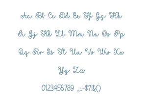 "Yellow Butterflies embroidery font PES format 15 Sizes 0.25, 0.5, 1, 1.5, 2, 2.5, 3, 3.5, 4, 4.5, 5, 5.5, 6, 6.5, and 7"" (MHA)"