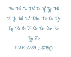"Congrats Calligraphy embroidery font PES format 15 Sizes 0.25 (1/4), 0.5 (1/2), 1, 1.5, 2, 2.5, 3, 3.5, 4, 4.5, 5, 5.5, 6, 6.5, 7"" (MHA)"