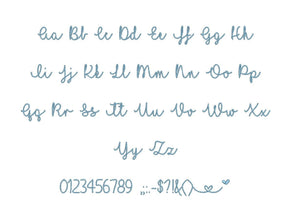 "I Love Glitter embroidery BX font Sizes 0.25 (1/4), 0.50 (1/2), 1, 1.5, 2, 2.5, 3, 3.5, 4, 4.5, 5, 5.5, 6, 6.5, 7"" (MHA)"