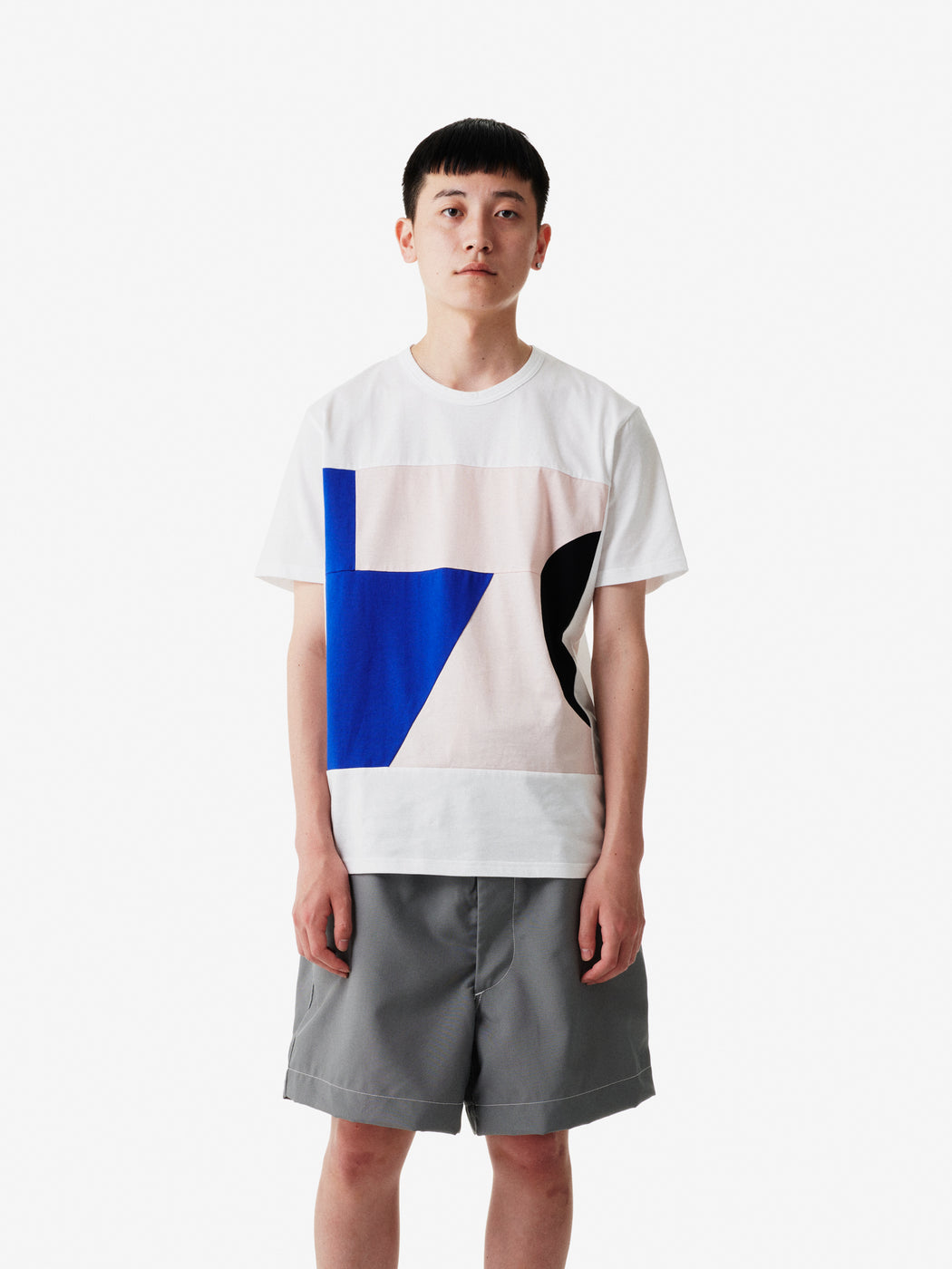 Color Blocks Short Sleeve T-shirt