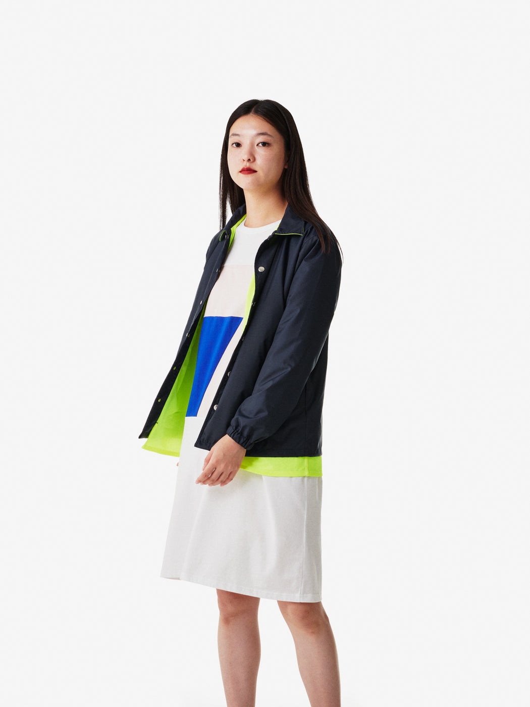 Color Blocks Coach Jacket