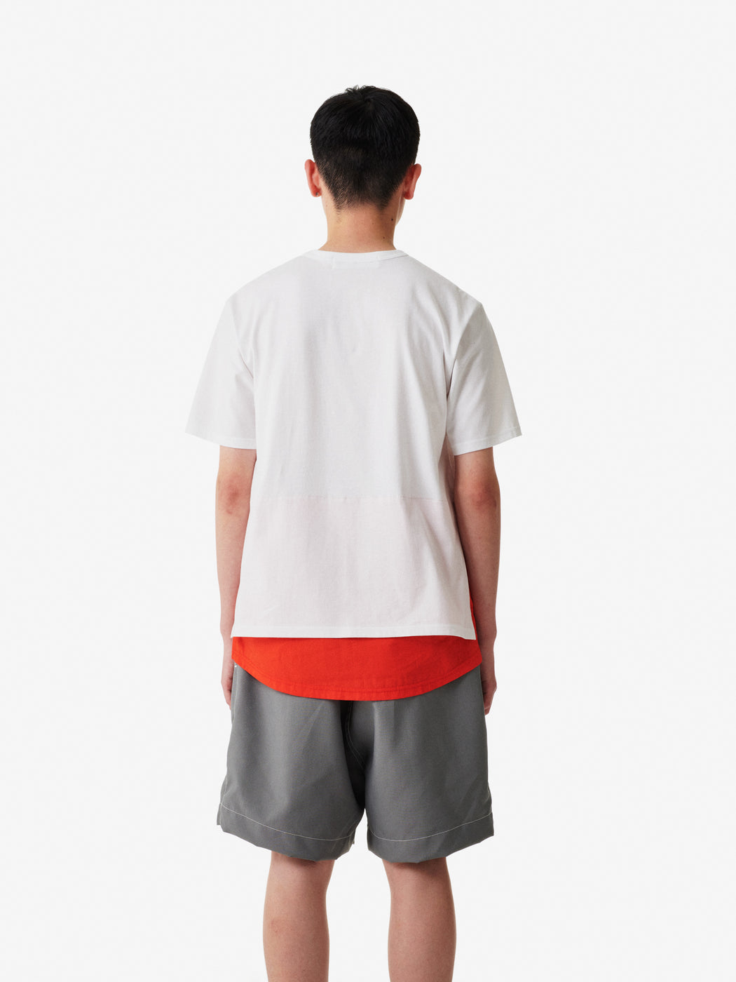 Shirt Fabrics Short Sleeve Layerd T-shirt