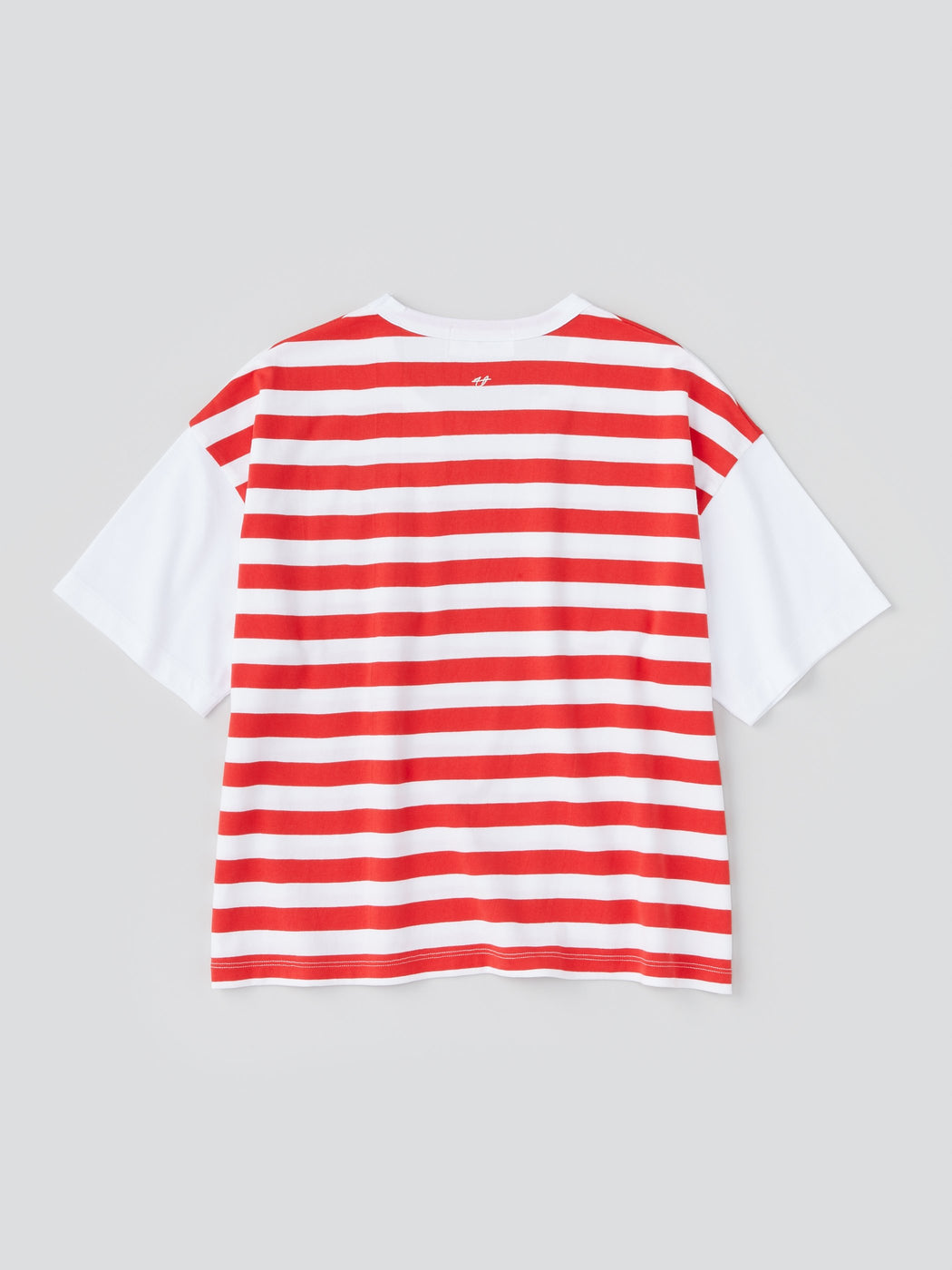 Dots & Stripes Women's Short Sleeve Wide T-shirt