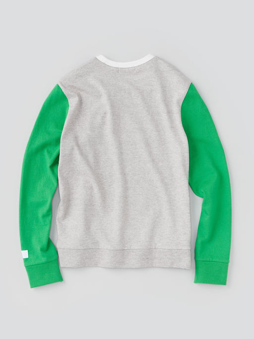 ALOYE G.F.G.S. Men's Cotton Knitted Sweater Green and Navy
