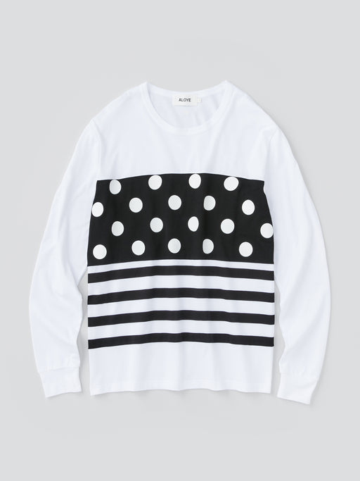 Dots & Stripes Men's Long Sleeve T-shirt