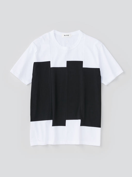 Color Blocks Men's Short Sleeve T-shirt
