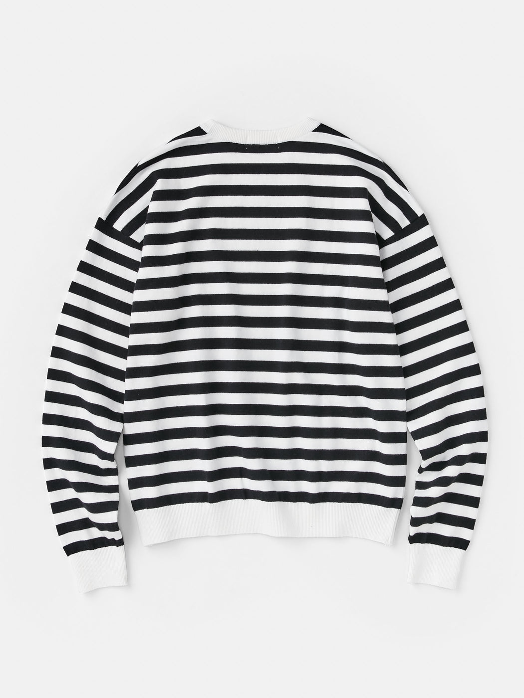 ALOYE G.F.G.S. Men's Cotton Knitted Sweater Black Stripe