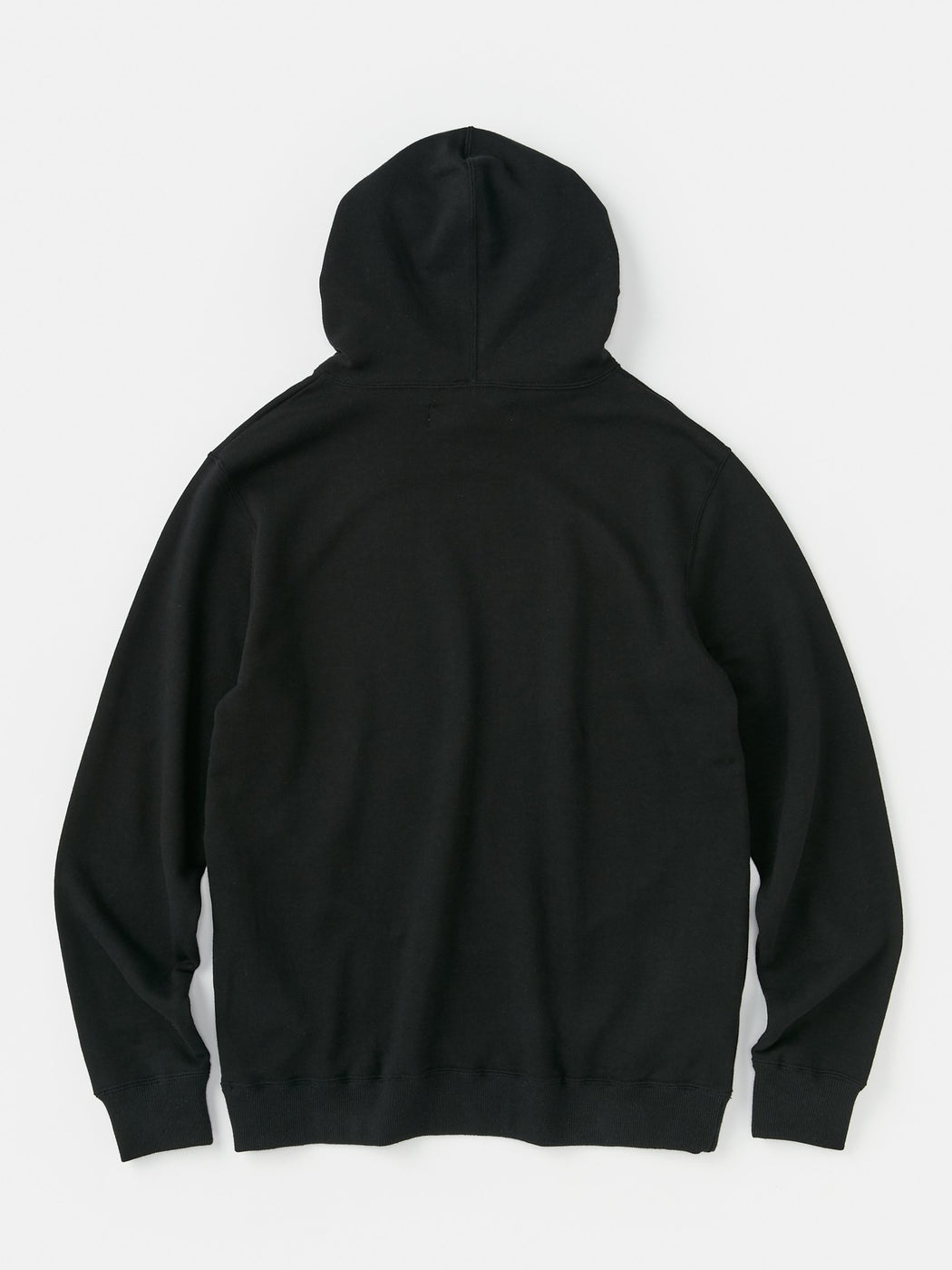 ALOYE Color Block Hoodie Black-Chacoal Gray