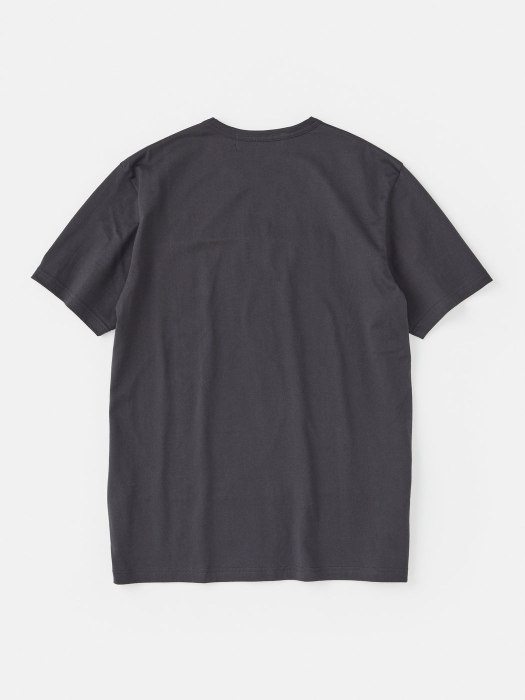 ALOYE Color Block Short Sleeve T-shirt Dark Gray-Black