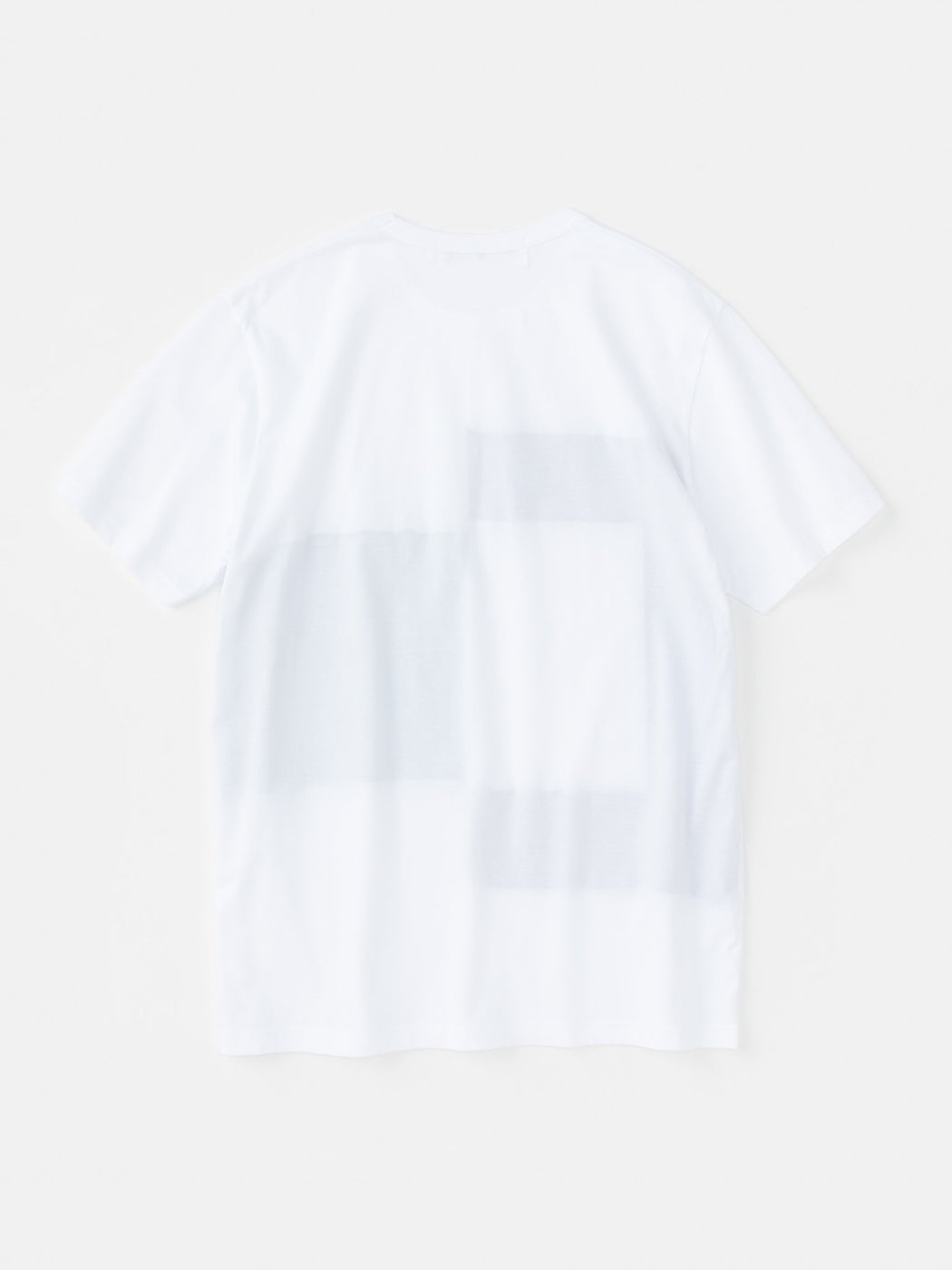 ALOYE Color Block Short Sleeve T-shirt White-Navy-Green