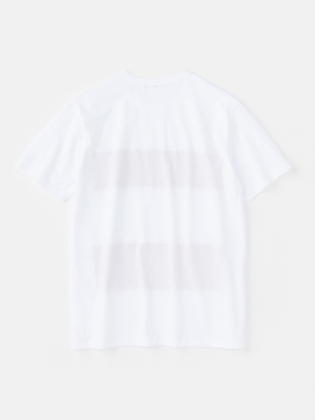 ALOYE Color Block Short Sleeve T-shirt White-Mustard