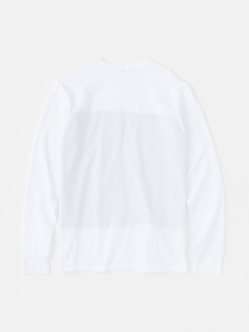 ALOYE Shirt Fabrics Long Sleeve T-shirt White-Black Stripe