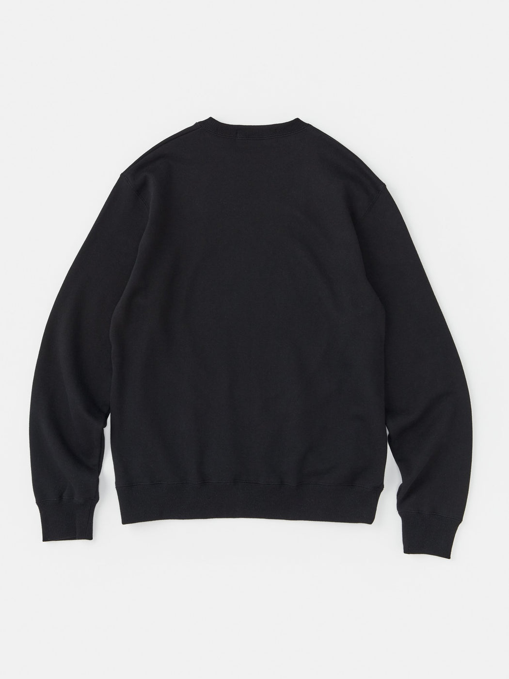 ALOYE Color Block Sweatshirt Black-Blue