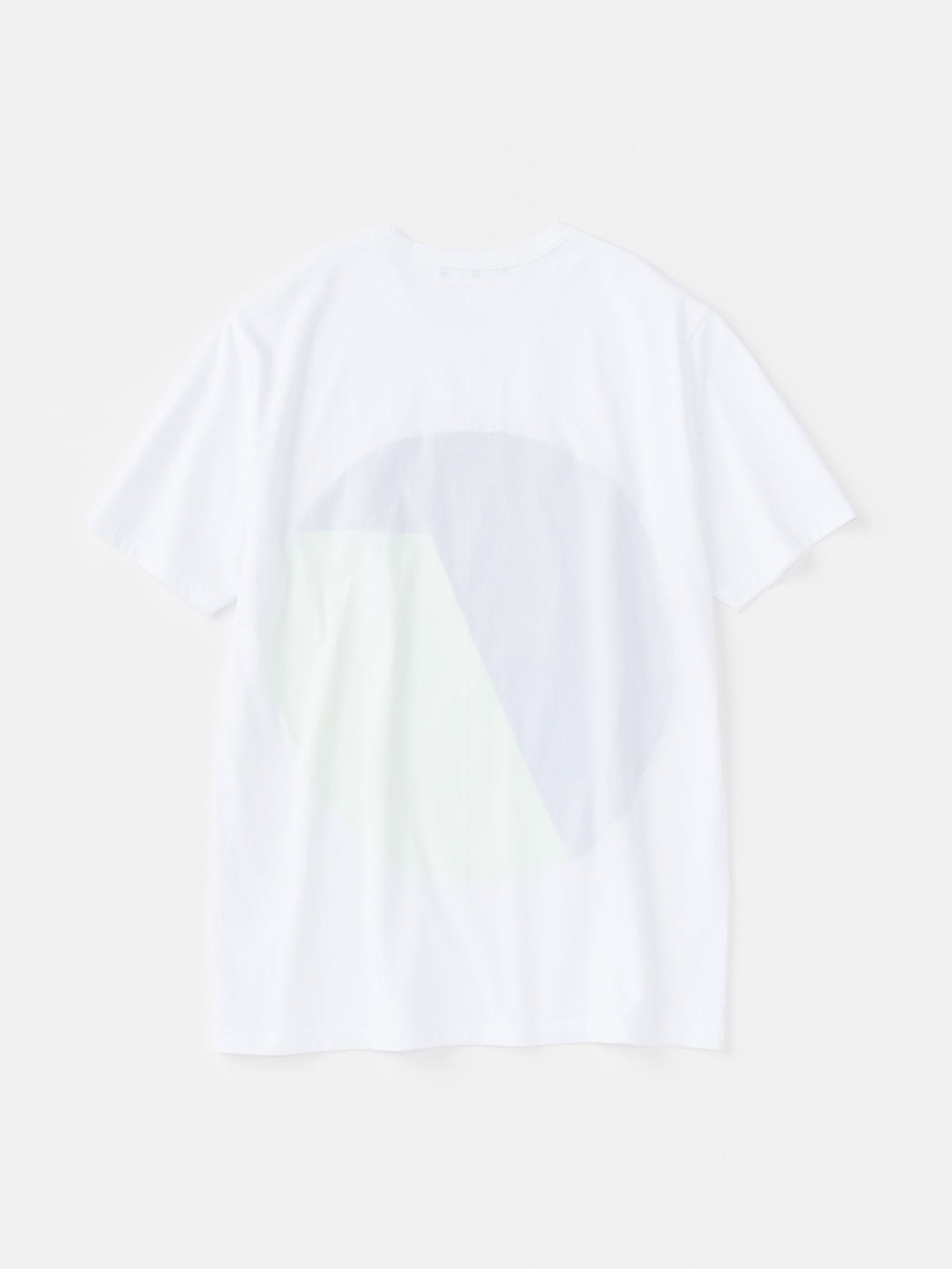 ALOYE Color Blocks Short Sleeve T-shirt White-Yellow