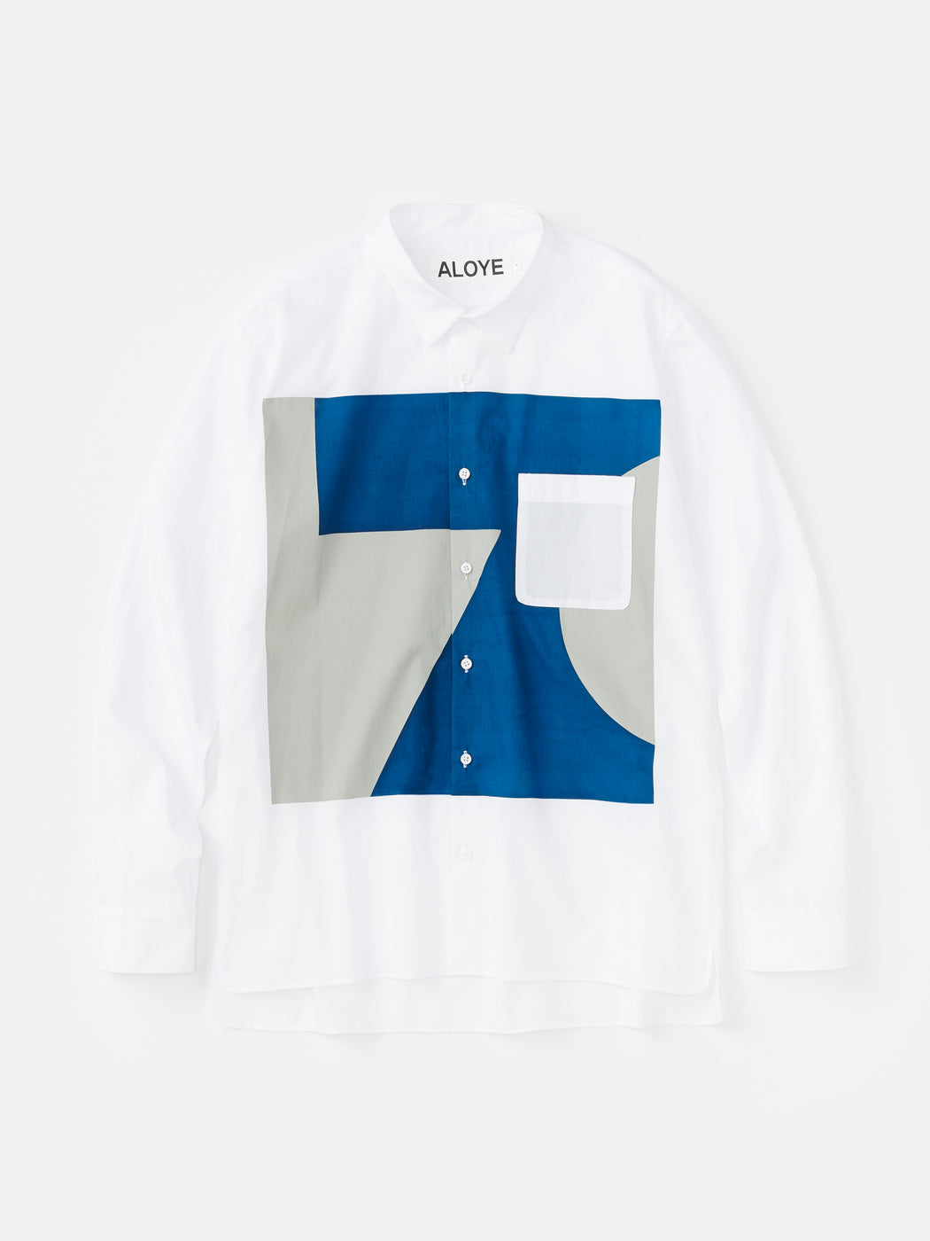 Color Blocks Long Sleeve Shirt