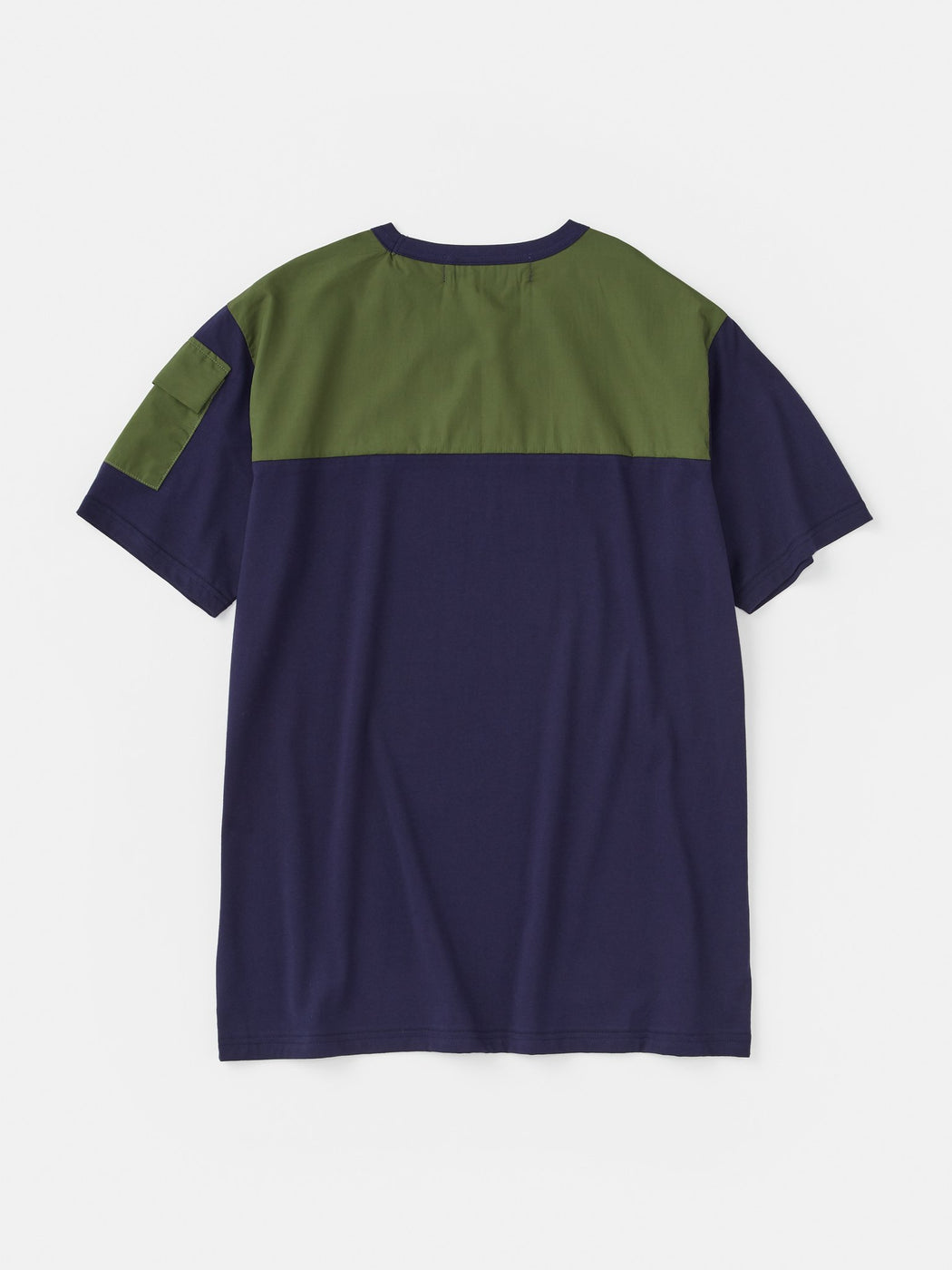 ALOYE Shirt Fabrics Short Sleeve T-shirt Navy-Olive