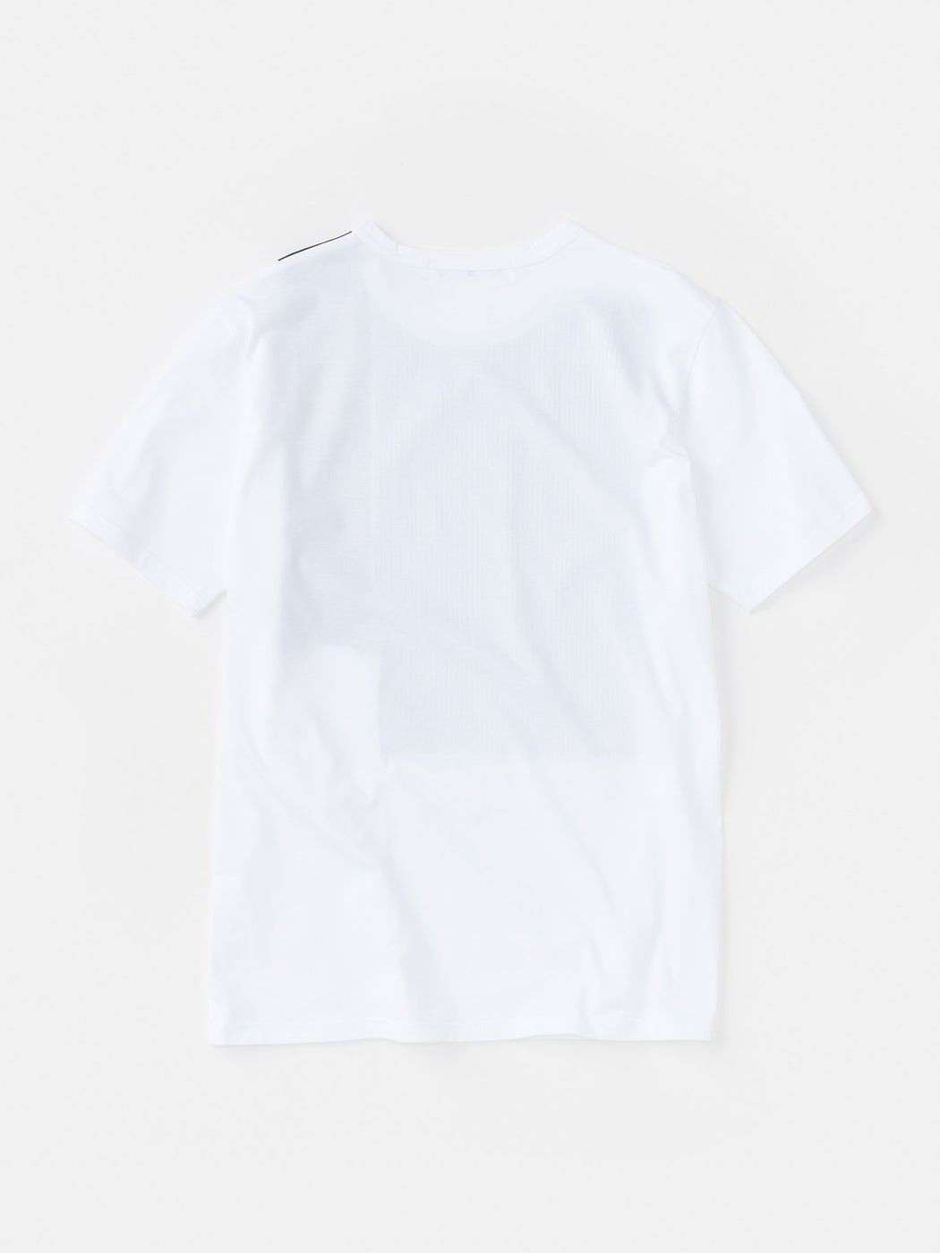 ALOYE Shirt Fabrics Short Sleeve T-shirt White-Stripe
