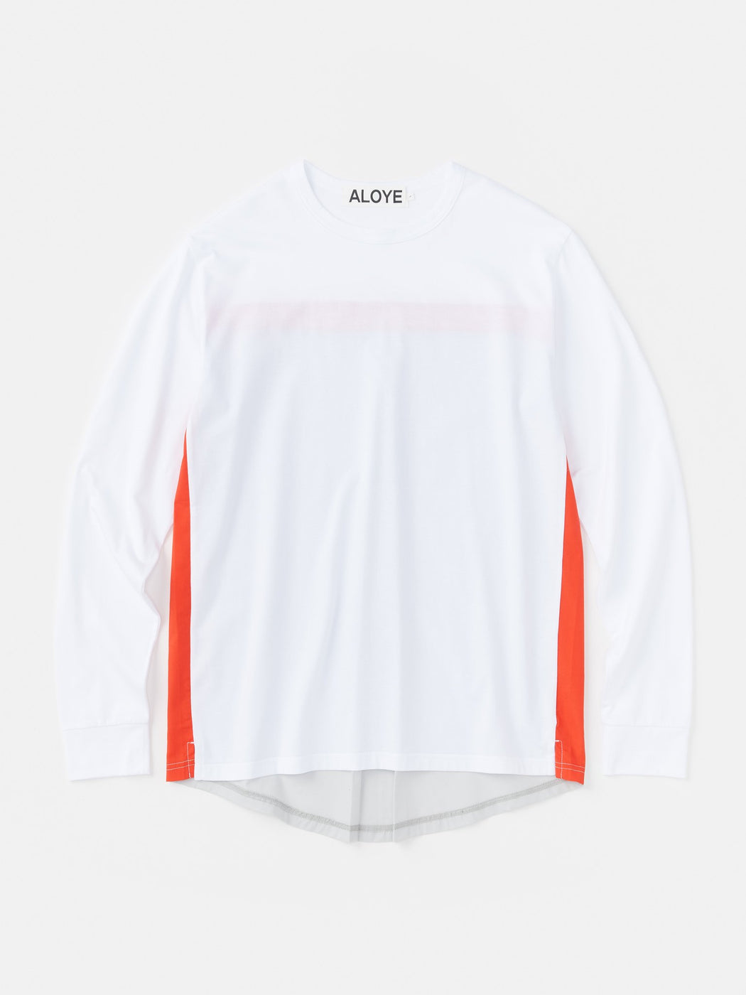 ALOYE Shirt Fabrics Long Sleeve T-shirt White-Gray