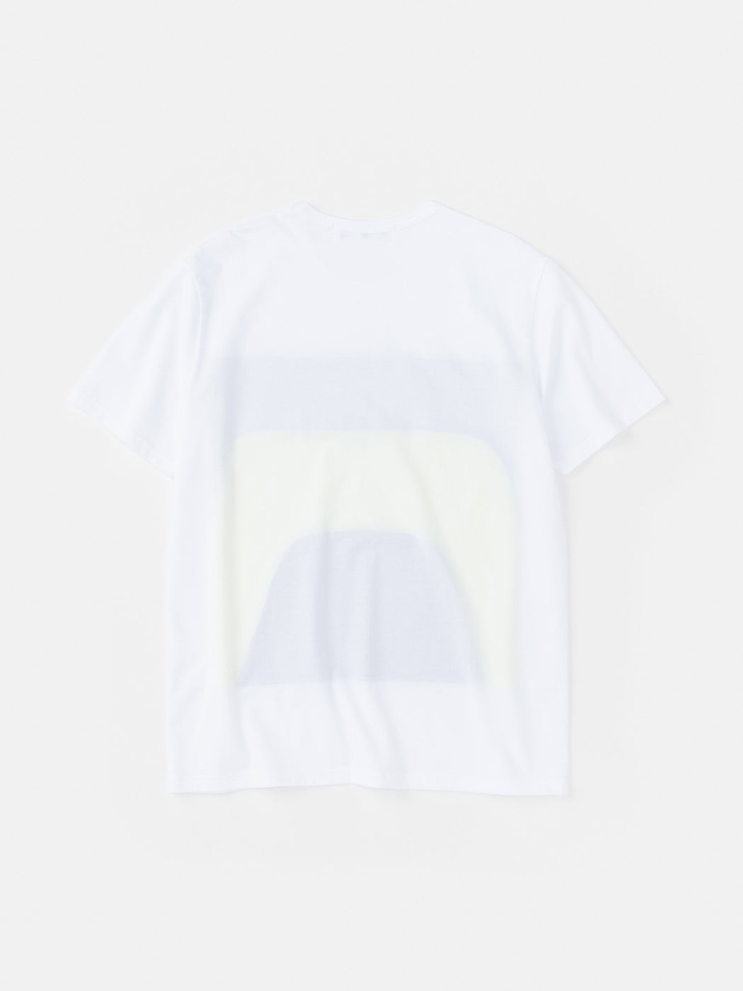 ALOYE Color Blocks Short Sleeve T-shirt White