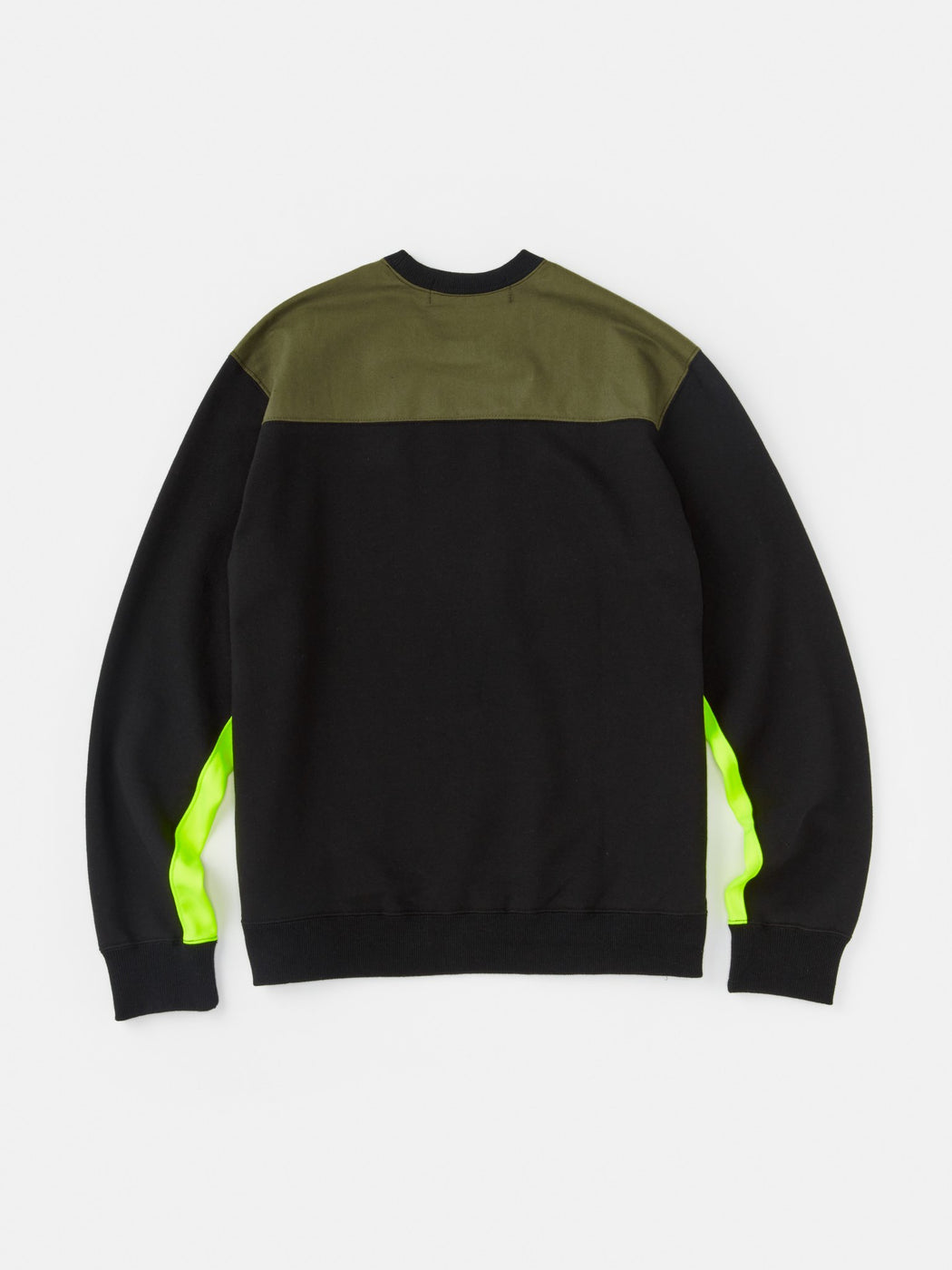 ALOYE Color Blocks Sweatshirt Black