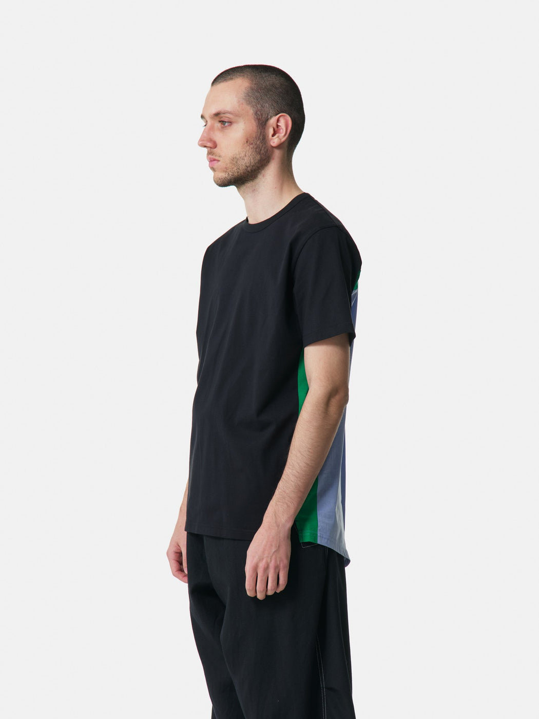 ALOYE Shirt Fabrics Short Sleeve T-shirt Black