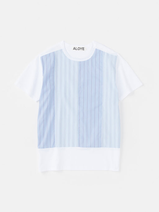 ALOYE Shirt Fabrics Short Sleeve T-shirt White