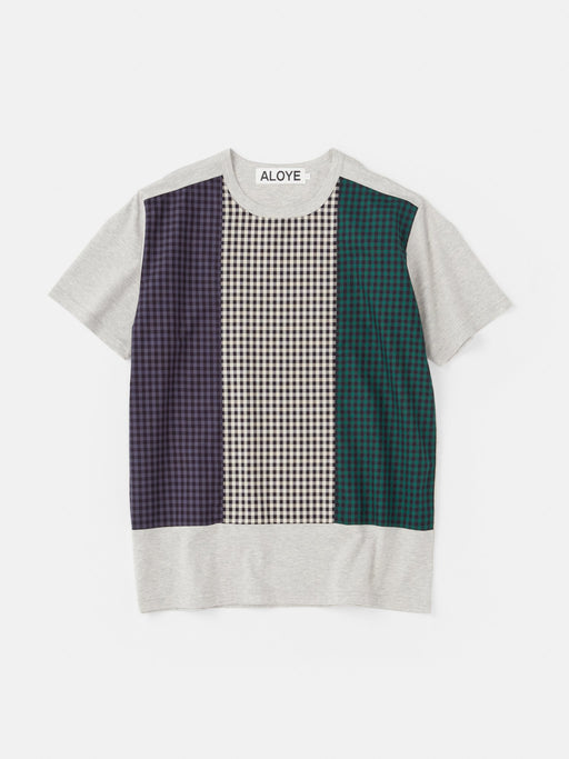 ALOYE Shirt Fabrics Short Sleeve T-shirt Heather Gray